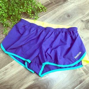 REEBOK playdry athletic shorts